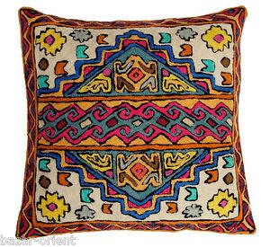 United 40x40 Cm Exklusiv Orient Handbestickte Kelim Sumakh Kissen Sitzkissen Cushion N1 Great Varieties Gobelins Antiquitäten & Kunst