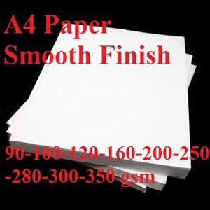 PREMIUM MONDI A3 WHITE 250GSM CARD SMOOTH DIGITAL COLOUR PRINTER//CRAFTS