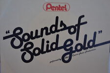 "PENTEL (Pens) ""SOUNDS OF SOLID GOLD"" 33 1/3 RPM Vinyl  Record 12 Songs music NM+"