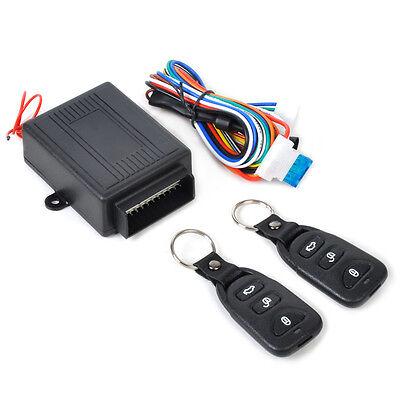 Universal Car Alarm Remote Control Central Door Locking Keyless Entry System