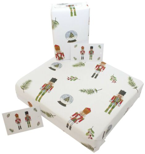Luxury 100/% Recycled ECO Friendly Xmas Gift Wrap Christmas Wrapping Paper /& Tags