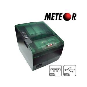 STAMPANTE-TERMICA-80MM-METEOR-SPEEDY-USB-SERIALE-RS232-NUOVA-SCONTRINI-CASSA