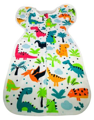 Newborn Baby infant Swaddle Wrap Blanket Sleeping Bag Sleep 1 tog dinosaurs