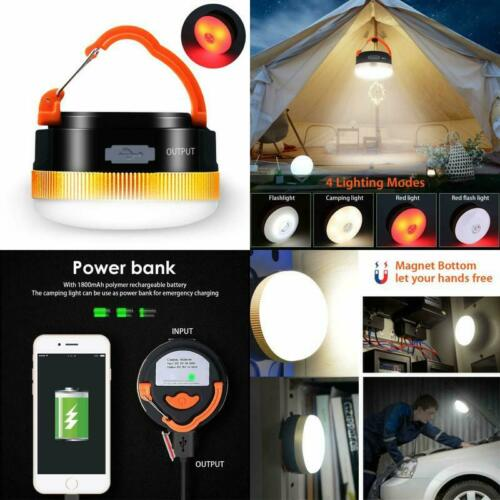 Mini Magnet Camping Laterne Campi Karrong Campinglampe Led Usb Wiederaufladbare