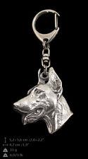 Dobermann,Dog Keyring, Keychain, High Quality, Exceptional Gift