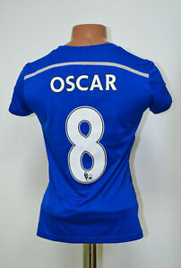 CHELSEA-LONDON-2014-2015-HOME-FOOTBALL-SHIRT-JERSEY-ADIDAS-OSCAR-8-SIZE-S-WOMEN