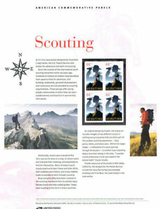 857-44c-Scouting-4472-USPS-Commemorative-Stamp-Panel