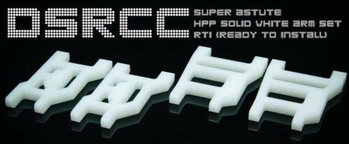 DSRCC custom machined tough white arm set for Tamiya Super Astute
