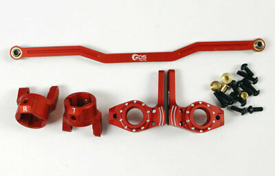GDS Racing 8 degree C Hub for Axial SCX10 BLACK//RED//SILVER