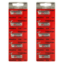 Toshiba A23 Battery 12Volt 23AE 21/23 GP23 23A 23GA MN21 12v 10 Pcs