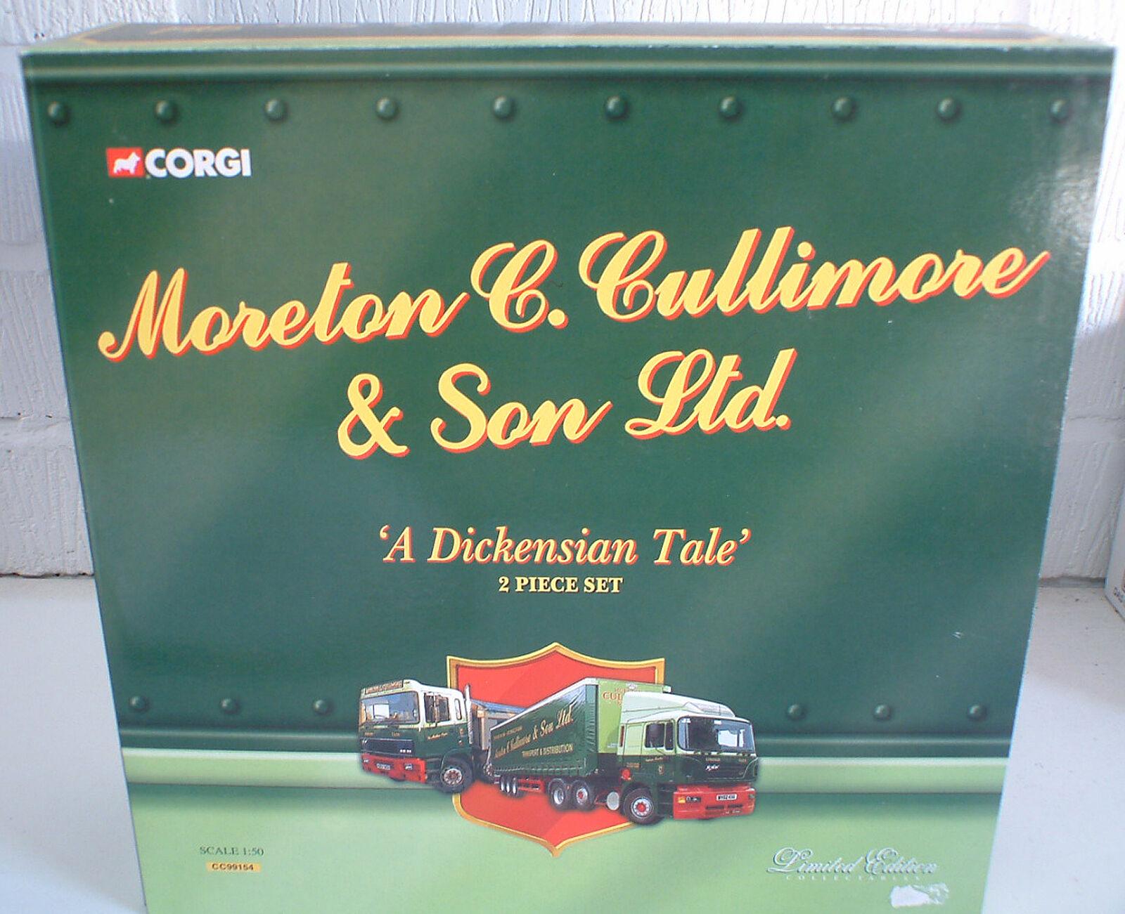 CORGI 1 50 th BOX SET   MORETON MORETON MORETON & CULLIMORE & SONS   L E CC99154 9f3944