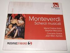 Monteverdi: Scherzi Musicali (CD, 2015) Concerto Soave, Jean-Marc Aymes, HM