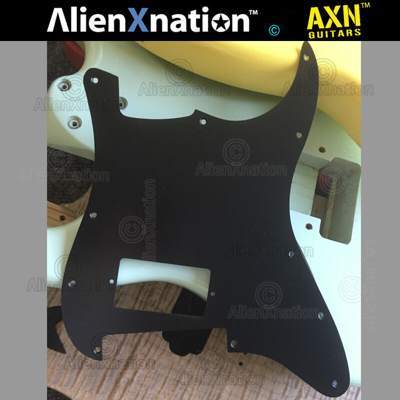 AXN™ SLANT HUMBUCKER PICK GUARD slanted pick guard angled for strat