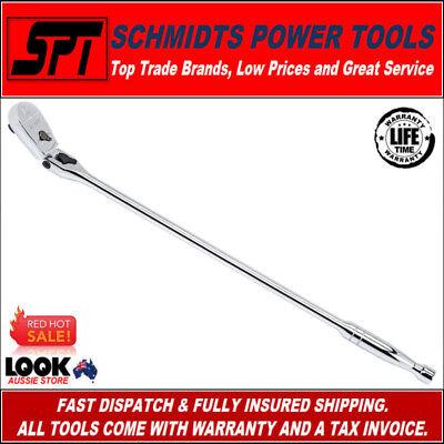 "Gearwrench 81363 1//2/""Dr 24/""Locking Flex Ratchet Full Polish"