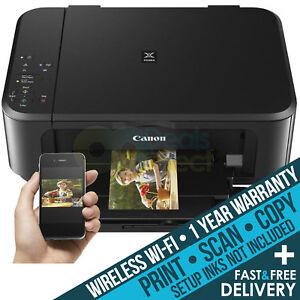 CANON PIXMA MG3650 All-in-One Wireless WiFi Scanner Printer - Printer Only Deal 4549292036305