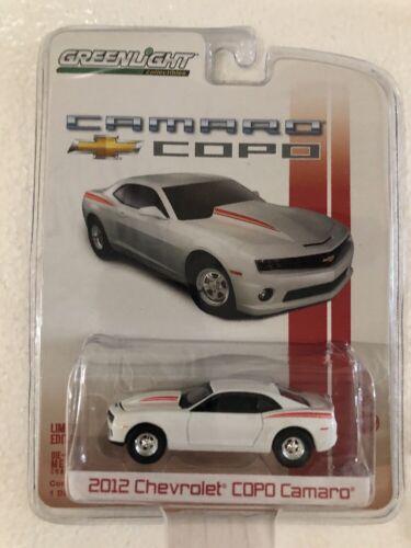 Greenlight COPO Camaro 2012 Chevrolet COPO Camaro White w// Red Stripes