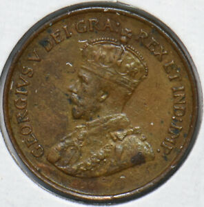 Canada 1923 Key Date Cent 490517 combine shipping