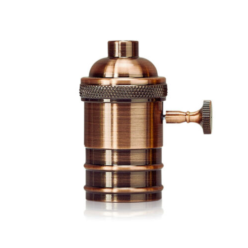 E26 E27 Edison Retro Schraubensockel Lampenfassung Adapter hot~
