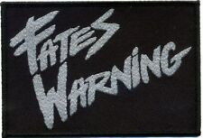 "Fates Warning "" Old Logo "" Patch/Aufnäher 602427 #"