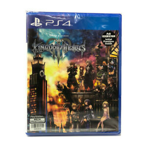 Kingdom-Hearts-III-3-PlayStation-PS4-2019-Chinese-Factory-Sealed