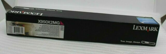 Lexmark X950x2mg Toner Magenta per X950,X952,X954