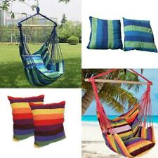 New Chair Hanging Rope Swing Hammock Outdoor Porch Patio Yard Seat Mul Colors