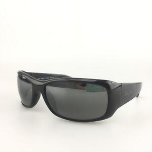 1932bff0101 Maui Jim Sunglasses mod. MJ 268 02E Third Bay Black Polarized Sport ...