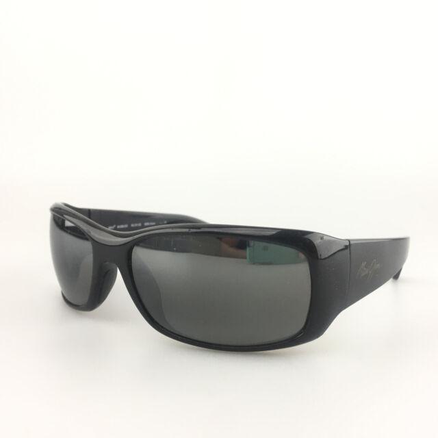 839dfd72c4 Maui Jim Sunglasses mod. MJ 268 02E Third Bay Black Polarized Sport Shades