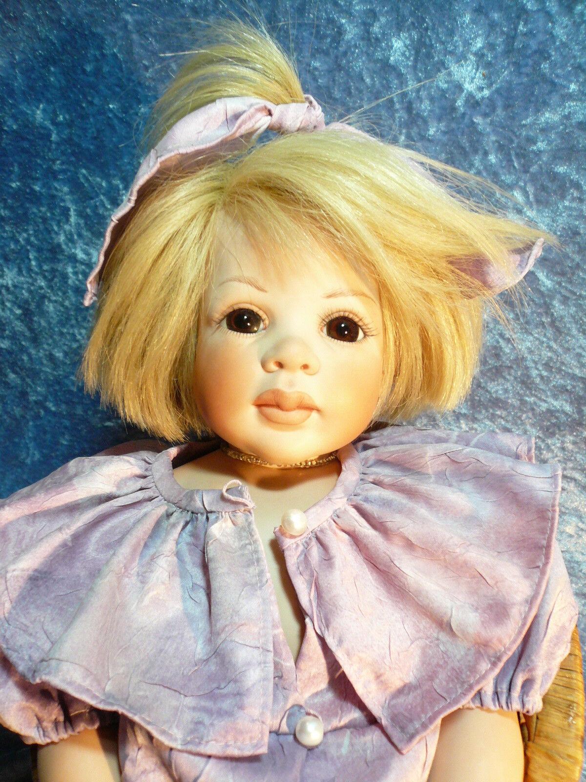 Hella Hofmann  Monique  porcelana Baby 2 25  artista muñeca 48 cm
