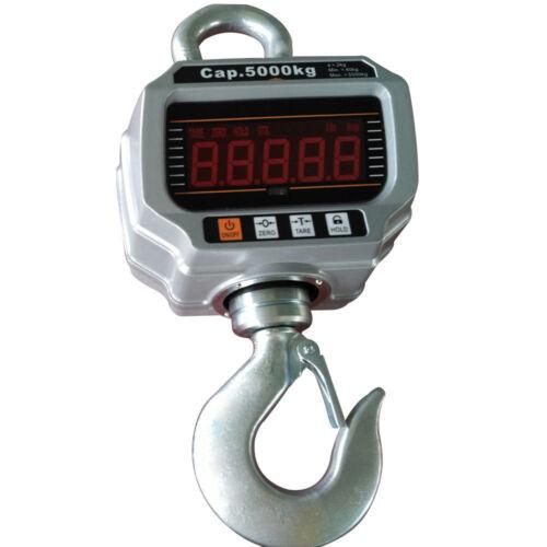 Elektronische 5T 5000KG Hänge Digital-Waage mit Waage Kranwaage Lastenwaage DHL