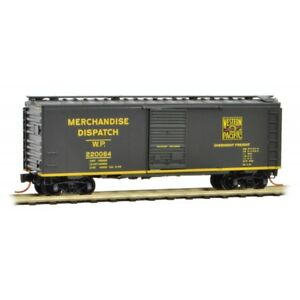Western-Pacific-40-039-Standard-Boxcar-Single-Door-MTL-020-00-097-N-Scale