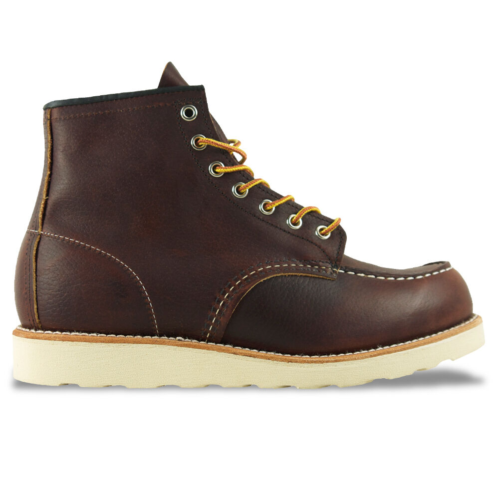 Stivali-RED WING NEW RED MOC MOC MOC TOE BOOT WING-Tan/marrone/rame-Nuovo con Scatola 2563c7