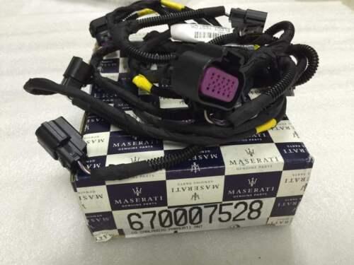 Maserati Quattroporte V6 Front Bumper Parking Sensor Harness Cable OE 670007528