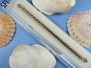 NEW-Vintage-Speidel-PINK-Gold-Ladies-Stretch-Watch-Band-5-1-8-10-034-Stretch