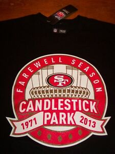SAN-FRANCISCO-49ERS-NFL-FOOTBALL-CANDLESTICK-PARK-T-Shirt-SMALL-NEW-w-TAG