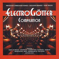 ELECTROGÖTTER CD 2003 Blutengel UNHEILIG Mesh WUMPSCUT Diary Of Dreams DE/VISION