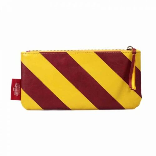 OFFICIAL HARRY POTTER VARSITY G IS FOR GRYFFINDOR FABRIC SCHOOL PENCIL CASE