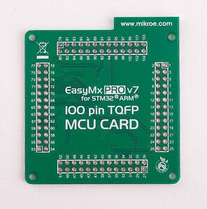 MikroElektronika-EasyMx-PRO-v7-for-STM32-Empty-MCUcard-100pin-TQFP