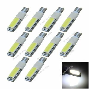 10X Car Green 28 LED 1210 SMD T10 W5W Bulb Wedge Side Light Bulb Lamp A034