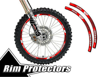 Senge Graphics Mayhem Yellow rim protector set for one 18 inch rim and one 21 inch rim