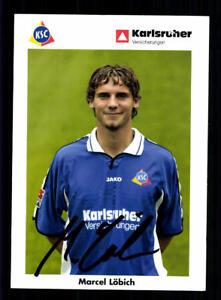 Sammeln & Seltenes Marcel Löbich Autogrammkarte Karlsruher Sc 2002-03 Original Signiert+a 183792 GroßE Vielfalt Sport