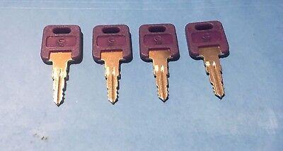 3 Global Link Purple Head Code Cut G351 G391 Keys Rv Travel Trailer Motorhome