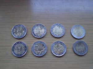 8-pieces-monnaie-de-2-en-tres-bon-etat