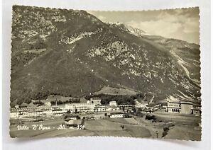 Cartolina-vera-foto-Villa-d-Ogna-anni-50-bianco-nero-viaggiata-con-francobollo