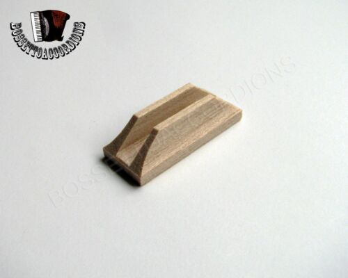 Accordion Valve Pallets Wood 13 x 31 x 9 mm SET OF 5 Import from Italy