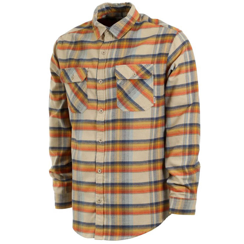 Burton hombres 2018 Brighton  Camisa de Franela-Safari A Cuadros  ofrecemos varias marcas famosas