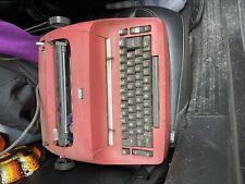 Red Ibm Selectric Typewriter