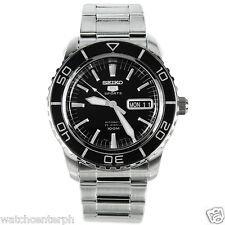 Seiko SNZH55K1 Poor Man's Fifty Fathoms Diver's Automatic Watch SNZH55