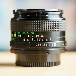 Canon FD 28mm f/2.8 nFD New FD 1:2.8 !! Belle Offre !!