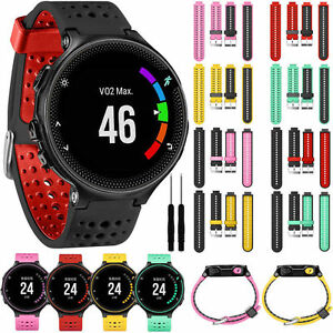 For Garmin Forerunner 230 235 630 735xt Silicone Replacement Strap